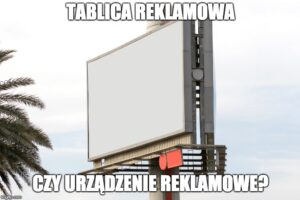 urządzenie reklamowe