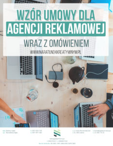 wzór umowy o świadczenie usług reklamowych