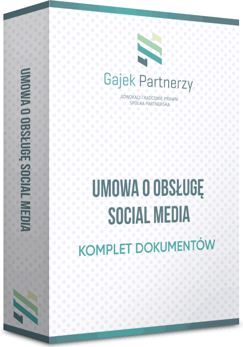 umowa o obsługę social media