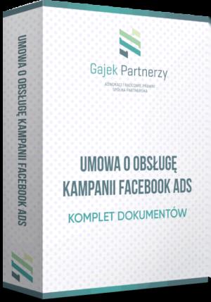 Umowa o obsługę kampanii Facebook Ads