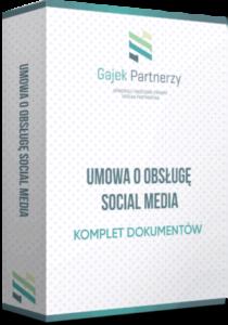 umowa o obsługę mediów społecznościowych
